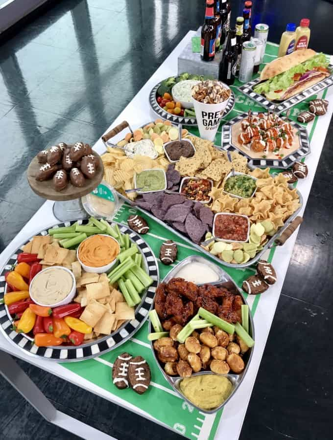 The Ultimate Super Bowl Spread