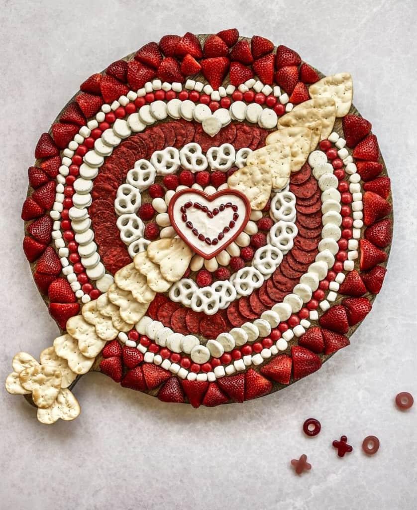 Valentine's Snack Board