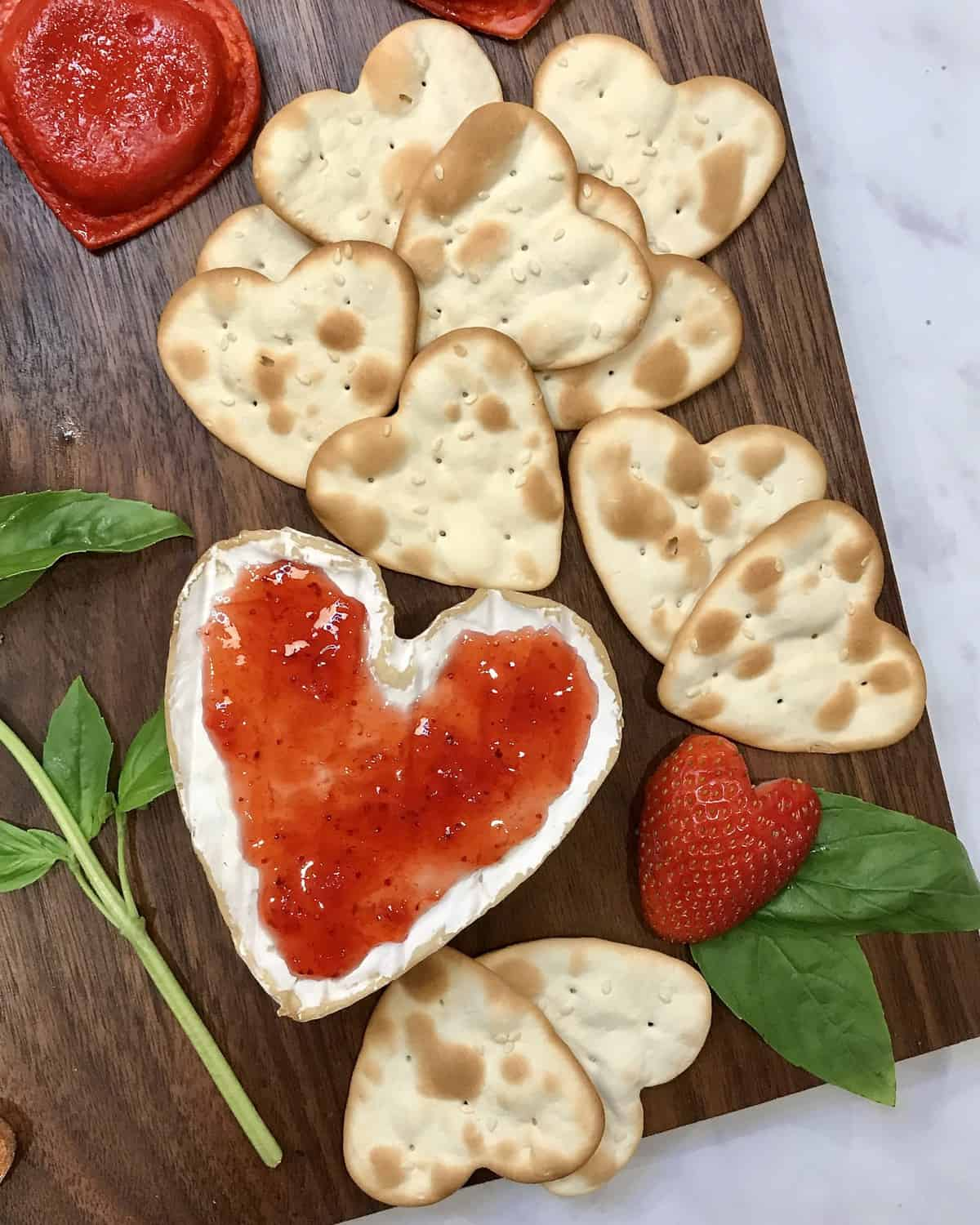 Italian-Themed Valentine's Day Dinner Board by The BakerMama