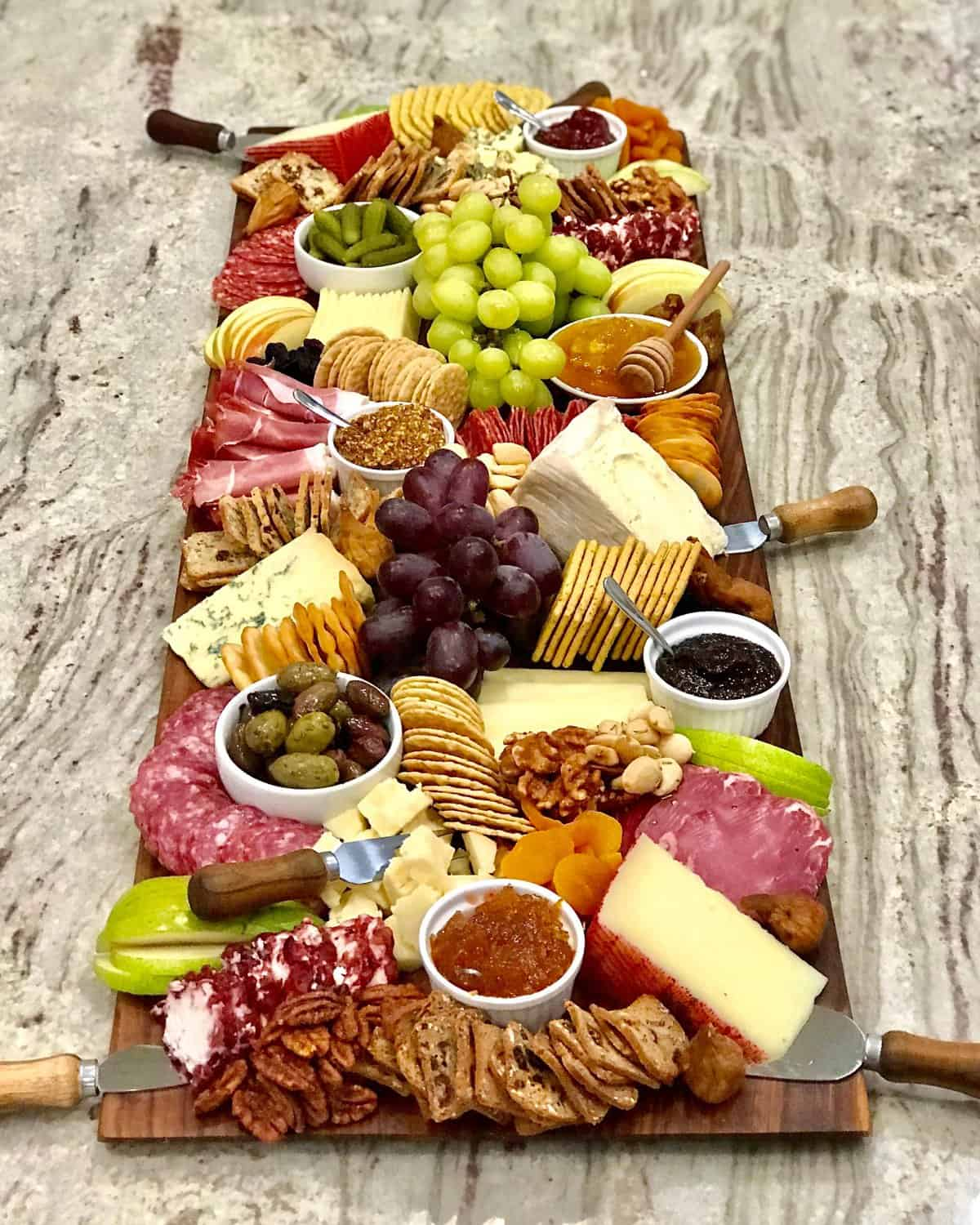 Trader Joe S Cheese And Charcuterie Board The Bakermama