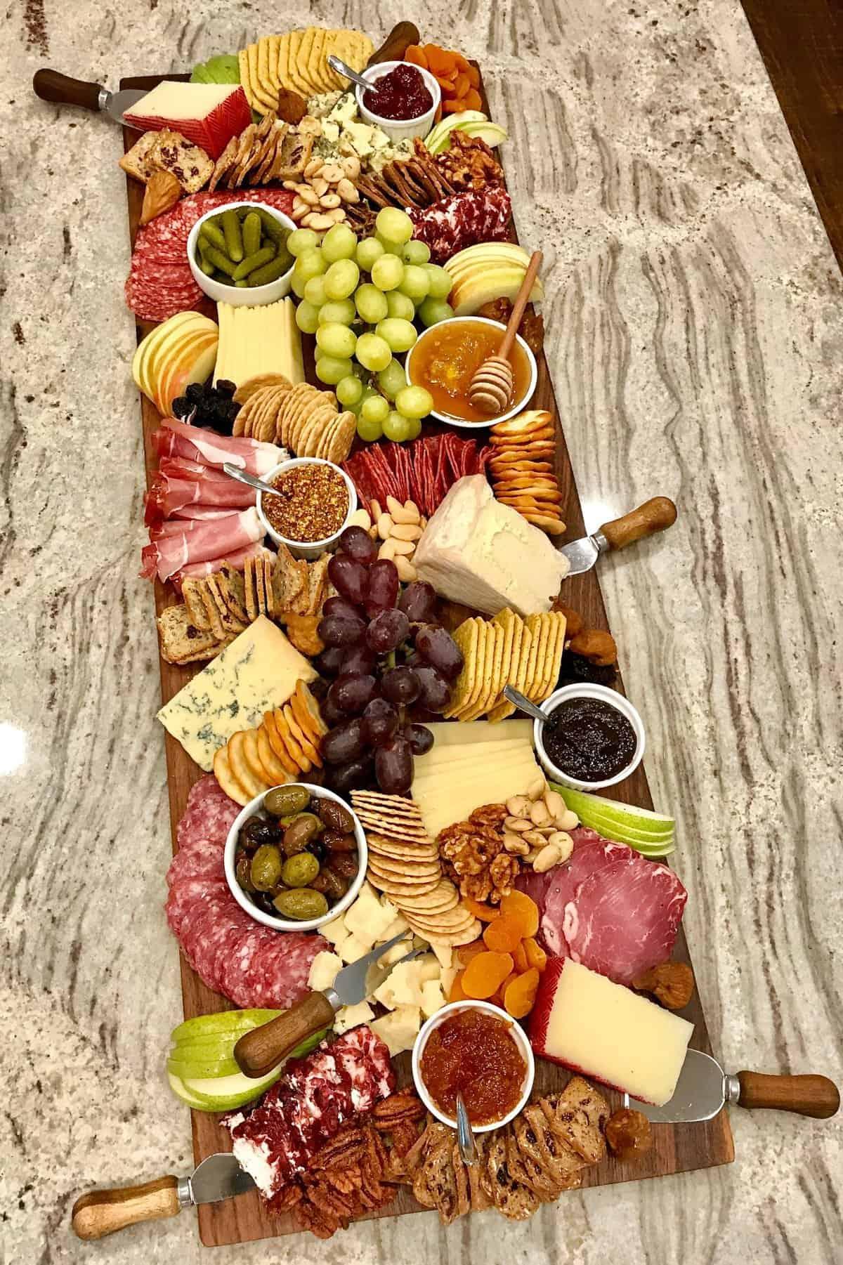 Trader Joe S Cheese And Charcuterie Board The Bakermama