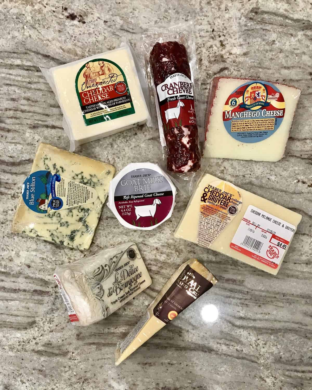 Large Trader Joe's Charcuterie and Cheese Board by The BakerMama