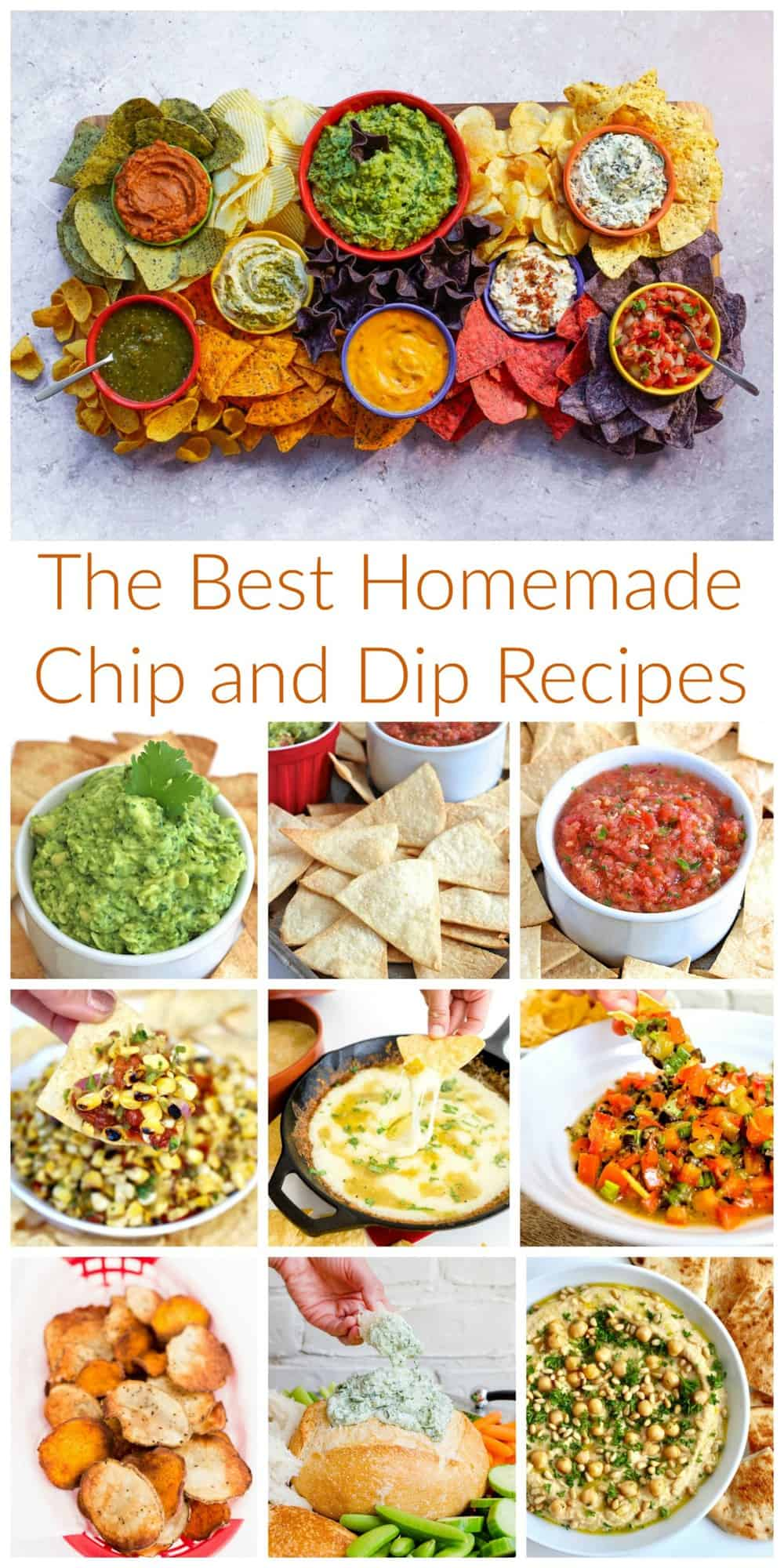 The Best Homemade Chip and Dip Recipes by The BakerMama