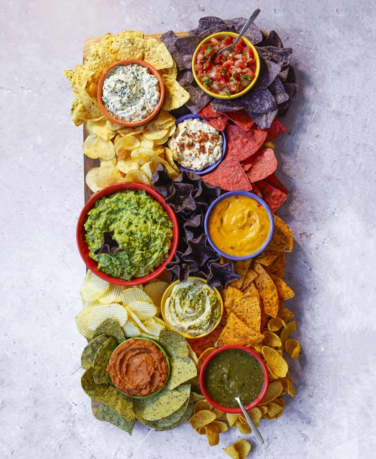 Chips and Dips Board by The BakerMama