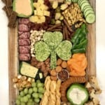 St. Patrick's Day Snack Board