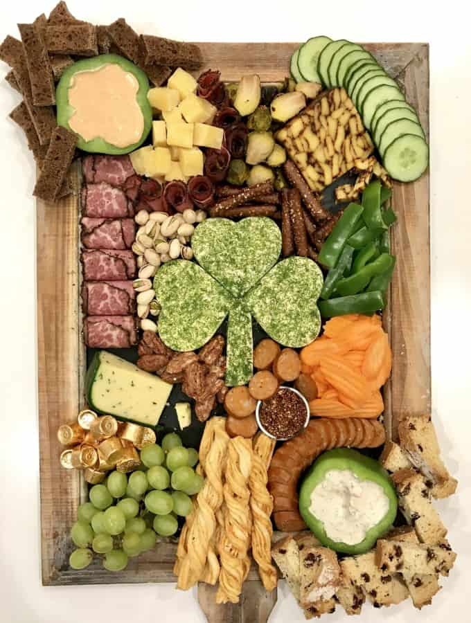 St. Patrick's Day Snack Board by The BakerMama