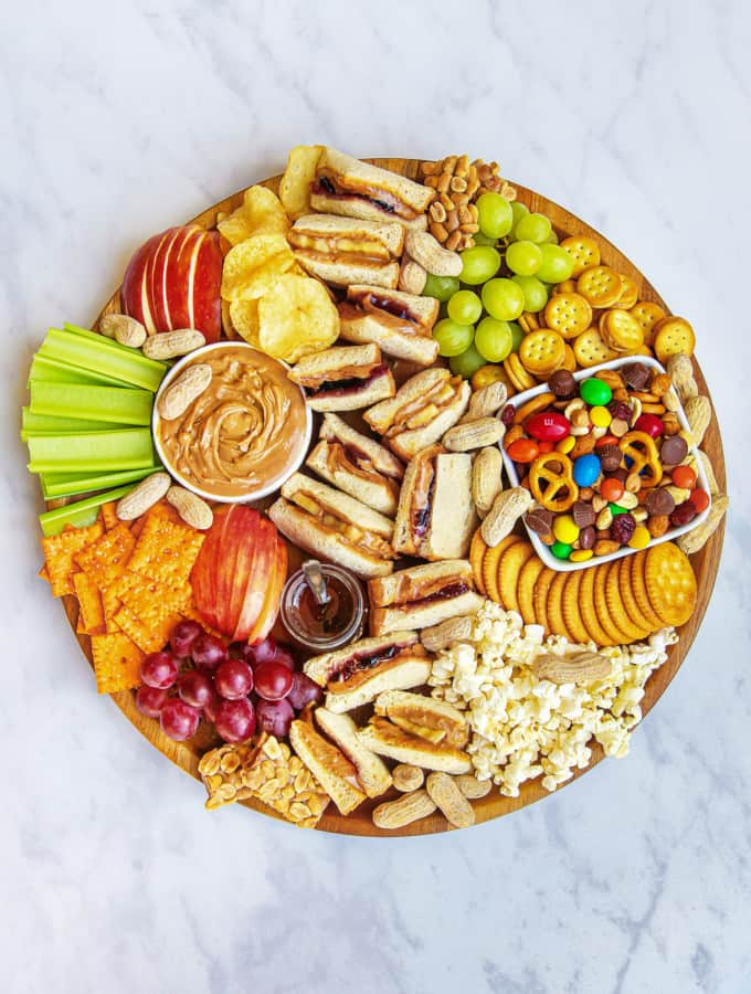 PB&J Snack Board by The BakerMama