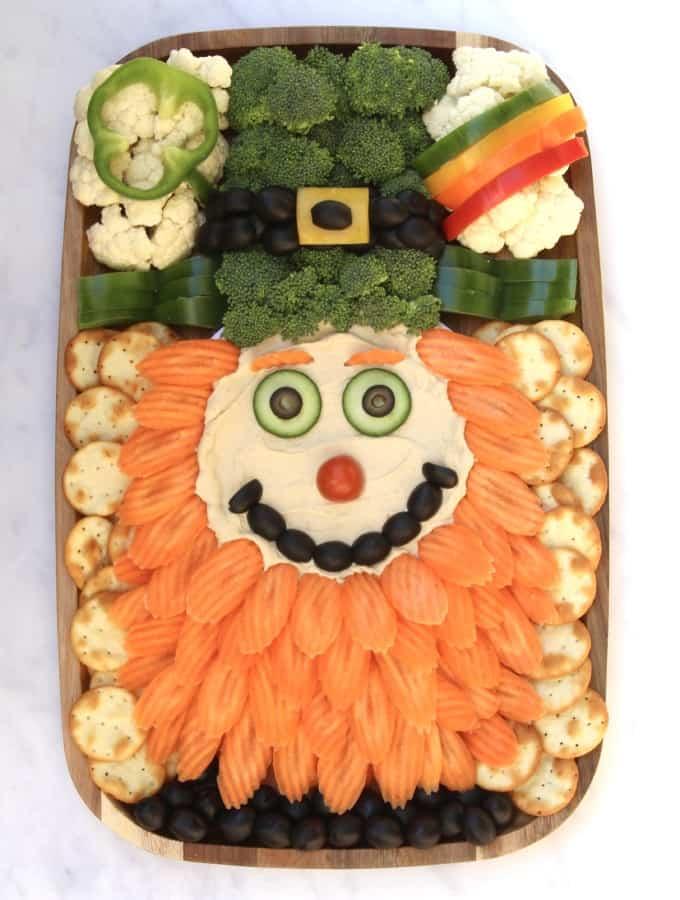 Leprechaun Snack Board by The BakerMama