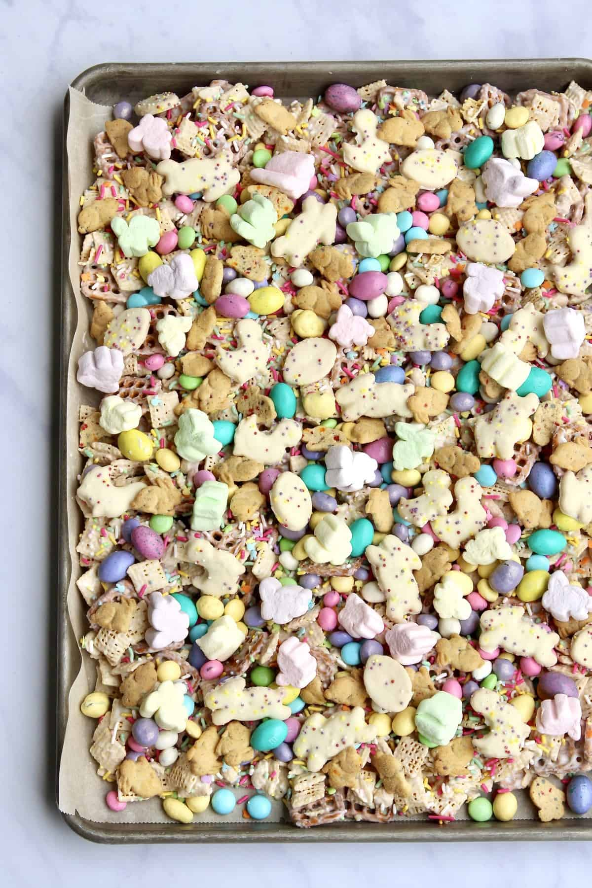 Easter Snack Mix by The BakerMama
