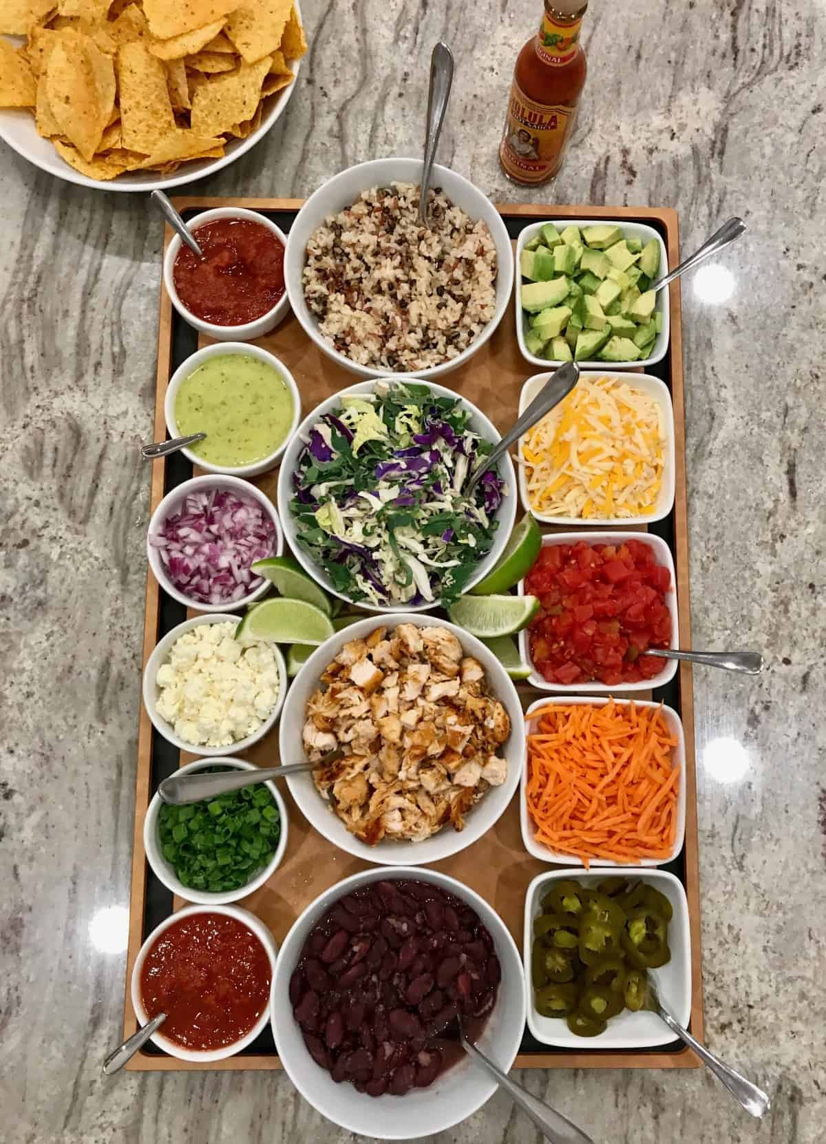 Build-Your-Own Burrito Bowl by The BakerMama