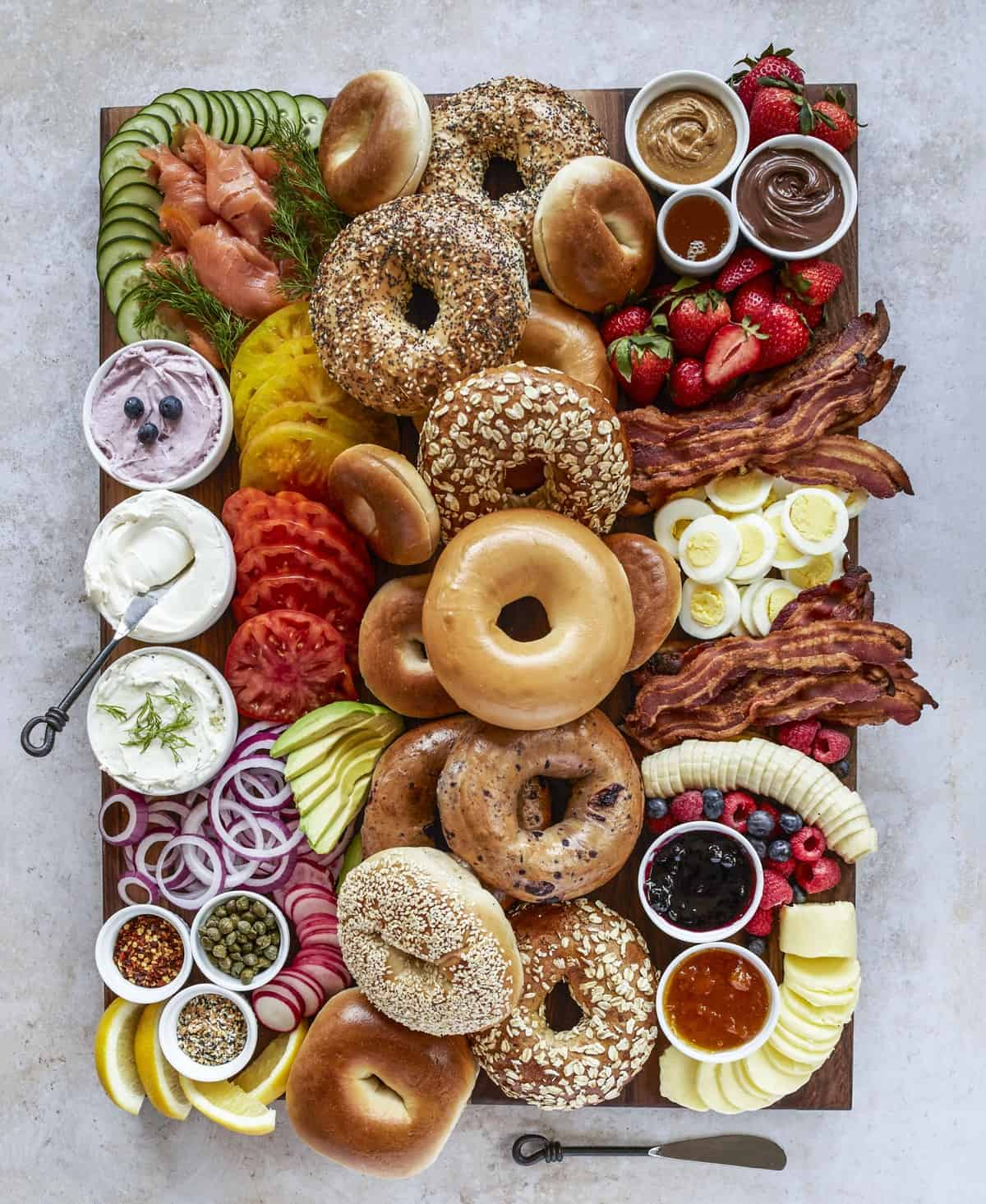 Bagel Board by The BakerMama
