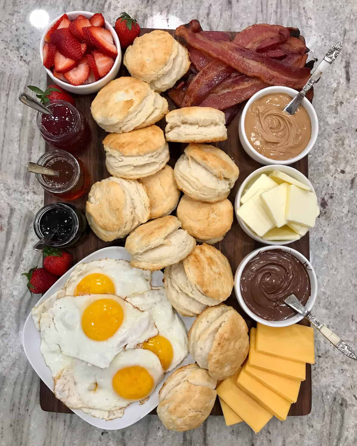 Biscuit Board by The BakerMama