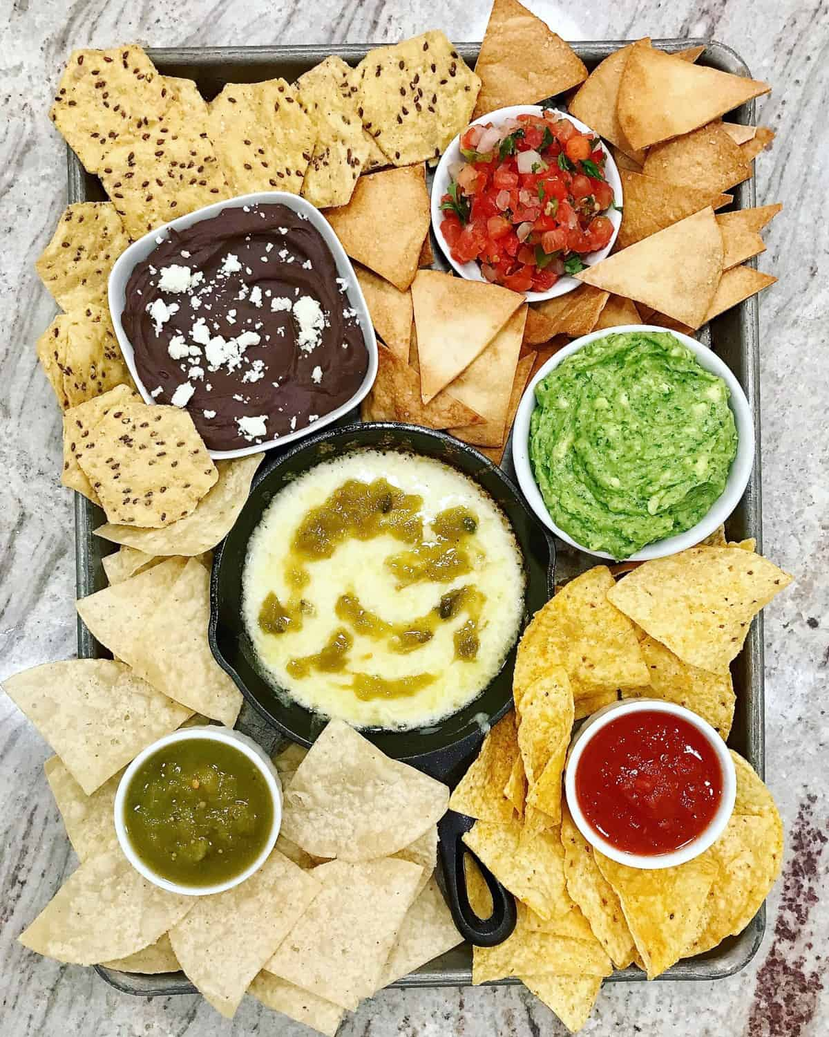 Chips and Dips Tray by The BakerMama