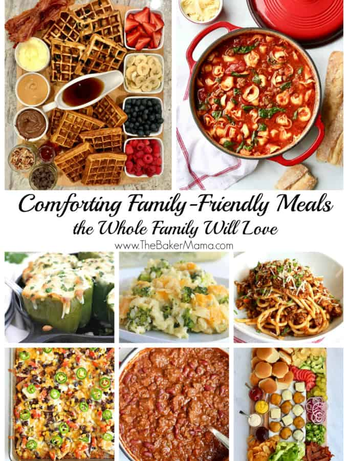 Comforting Family-Friendly Meals Cover