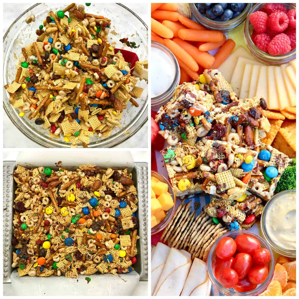 No-Bake Snack Mix Bars