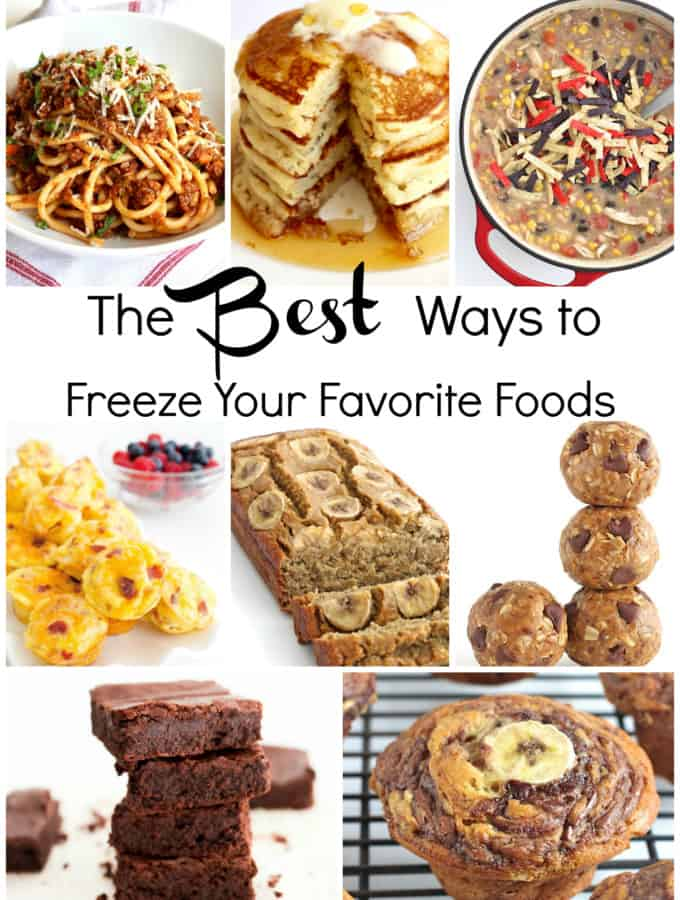 The Best Ways to Freeze Your Favorite Foods