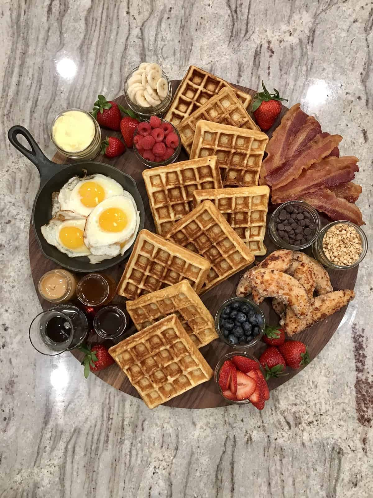 Waffle Board by The BakerMama
