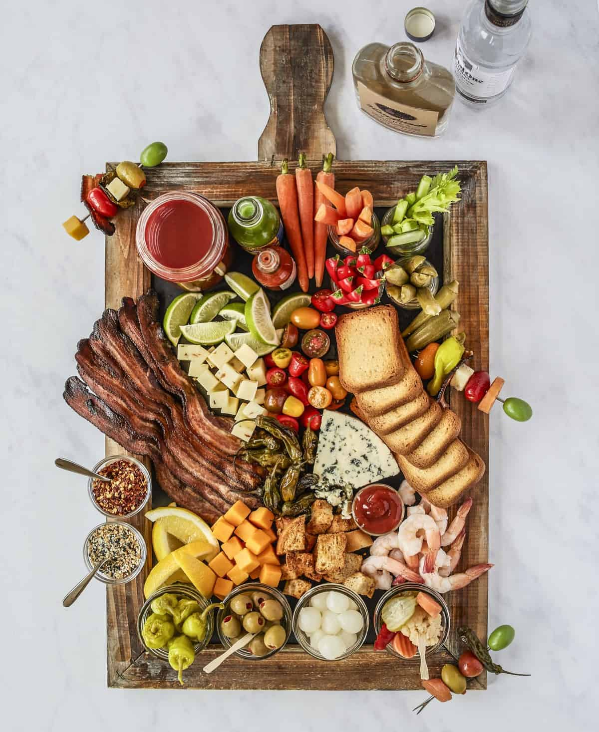 Bloody Mary Board by The BakerMama's Beautiful Boards Cookbook