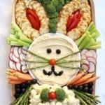 Easter Bunny Snack Board
