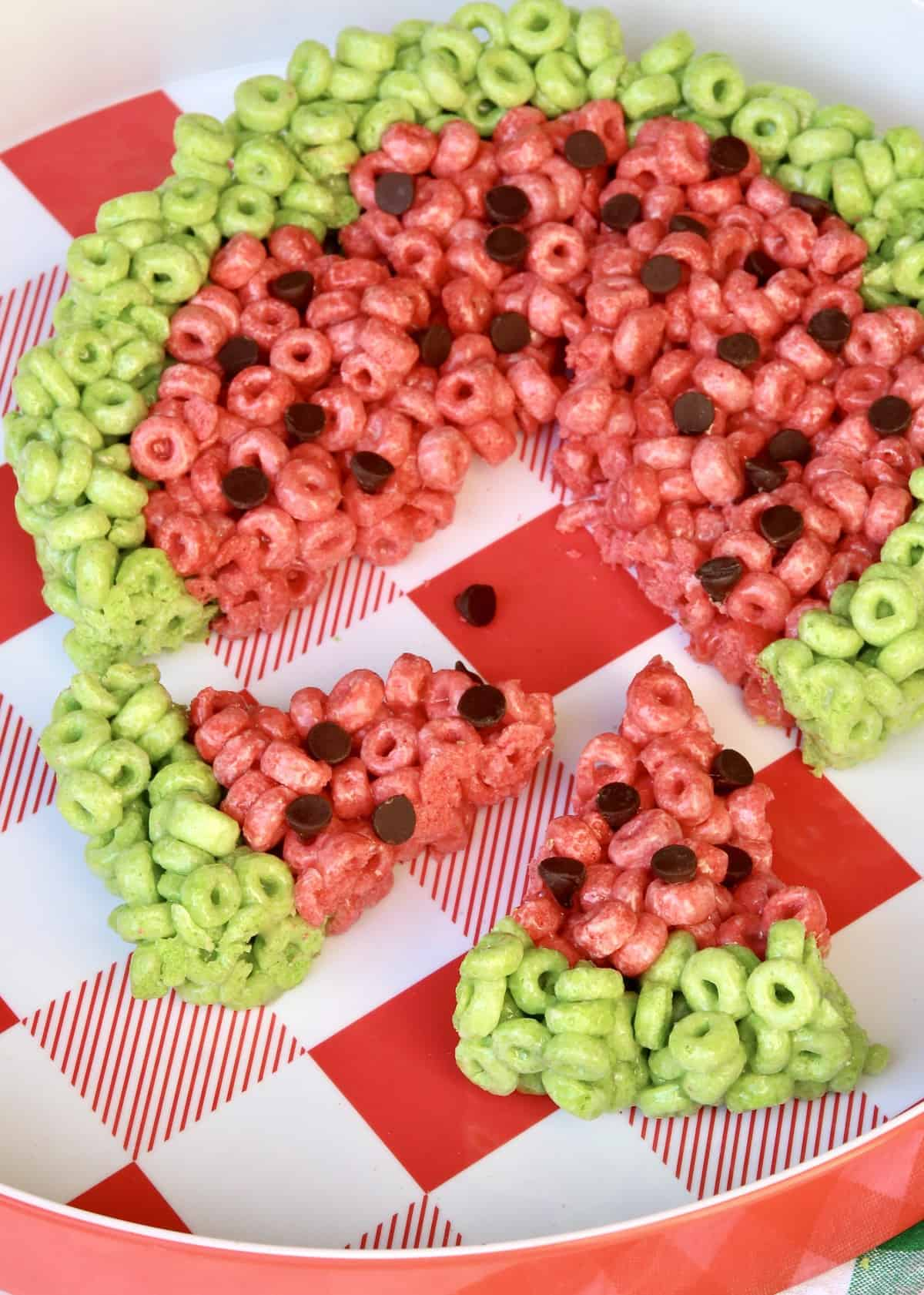 Watermelon No-Bake Treats