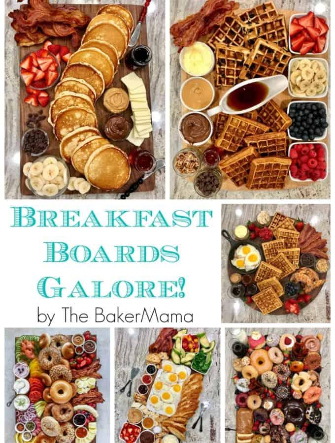 Breakfast Boards Galore by The BakerMama