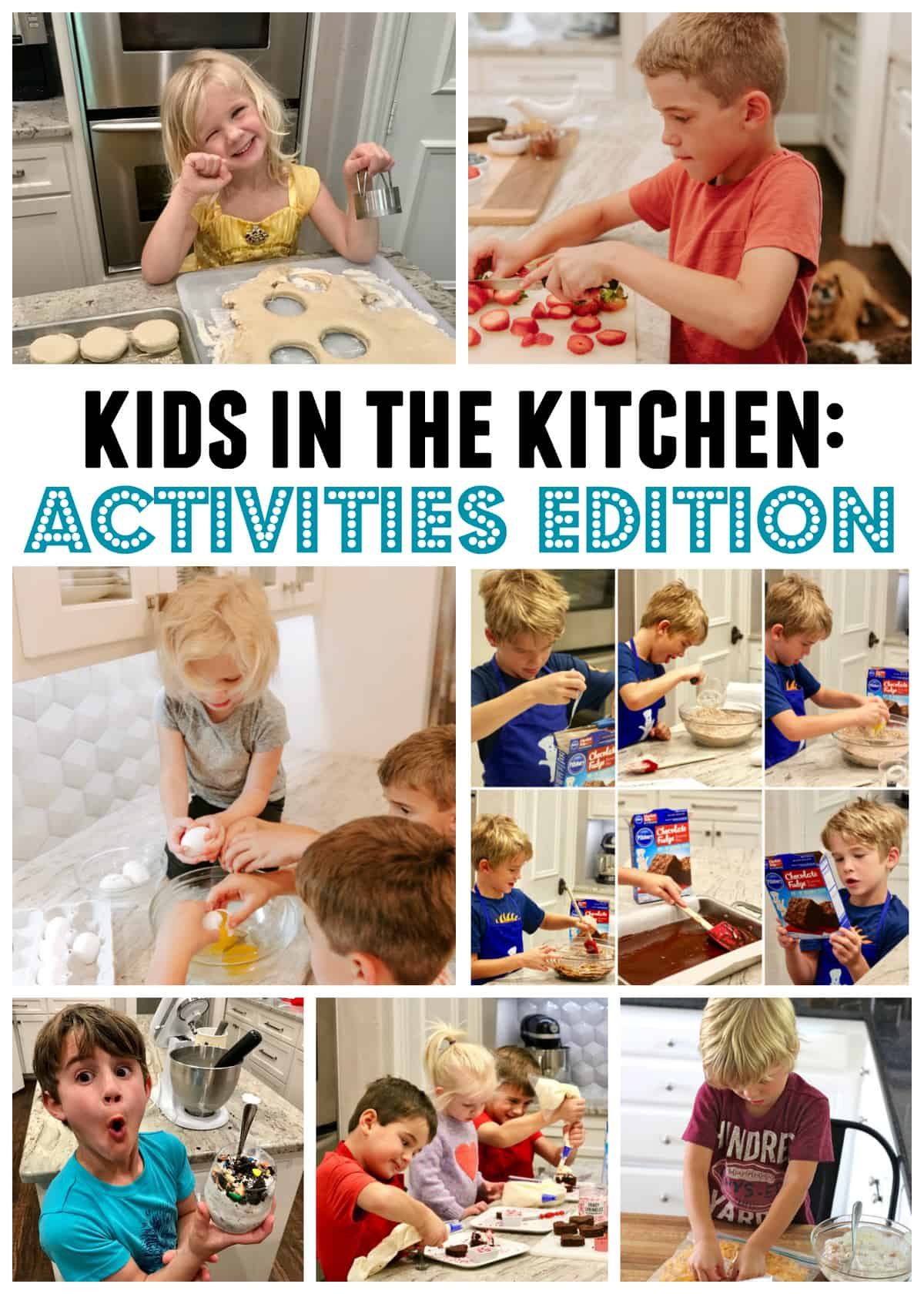 Kids In The Kitchen Activities Edition 5x7 Card