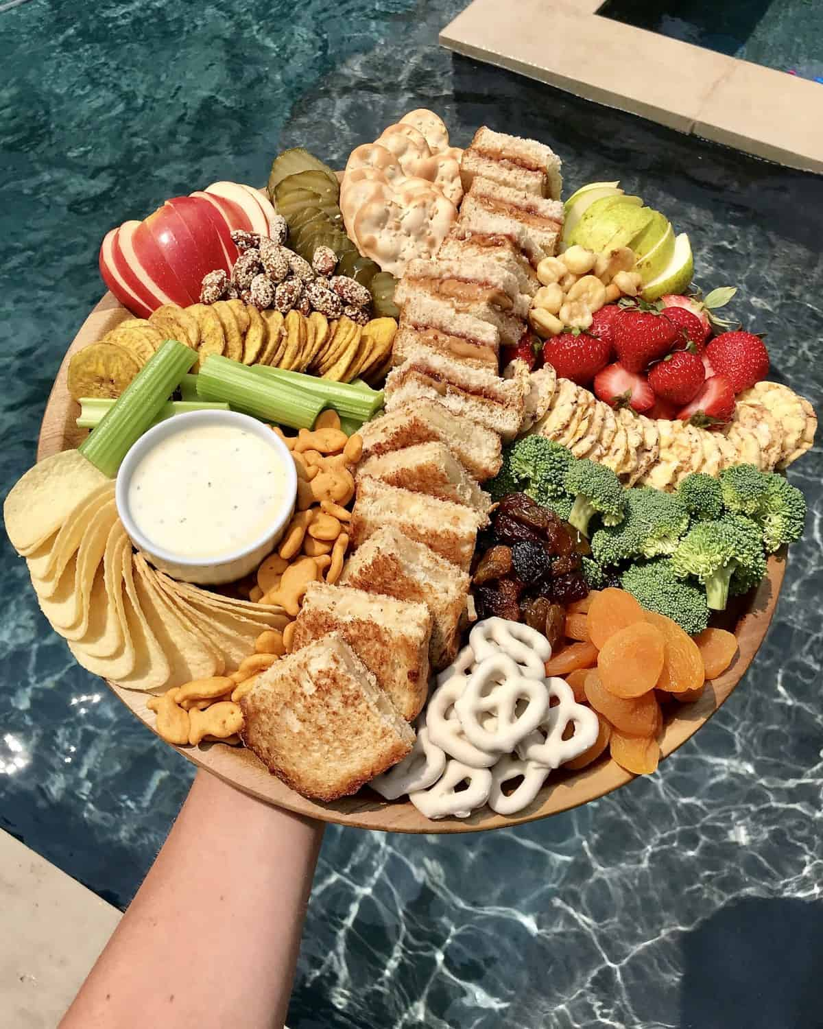 Snack Lunch Board by The BakerMama