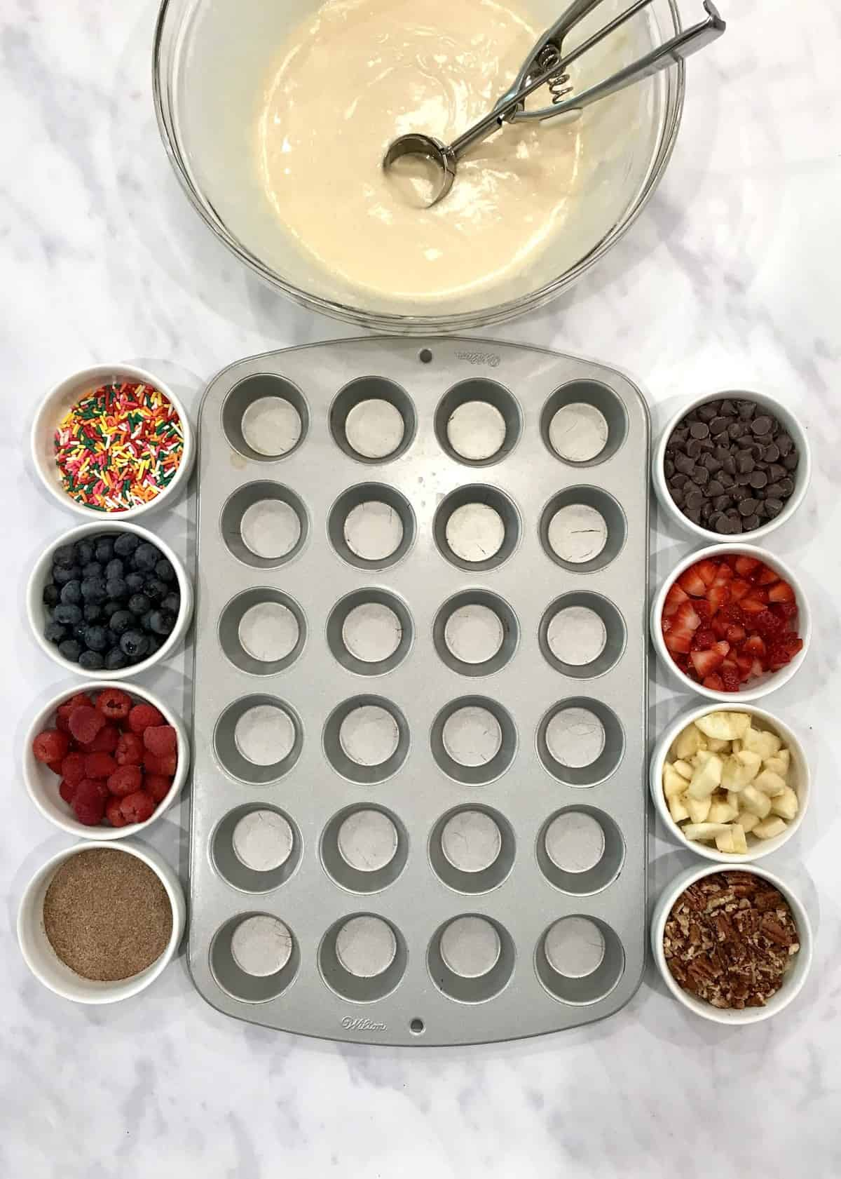 One-Bowl Muffins Many Ways