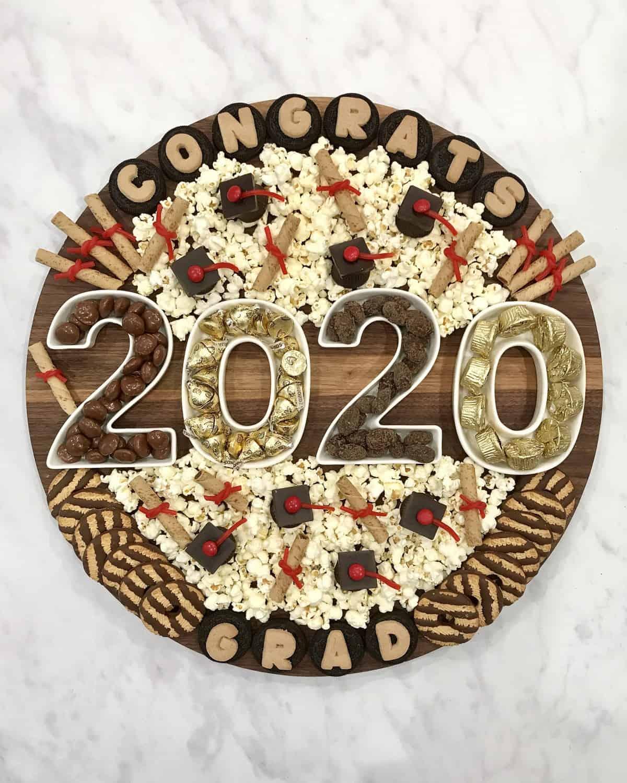 Graduation Snack Board by The BakerMama