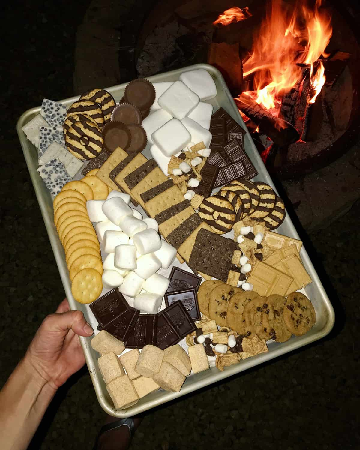 S'mores Tray by The BakerMama