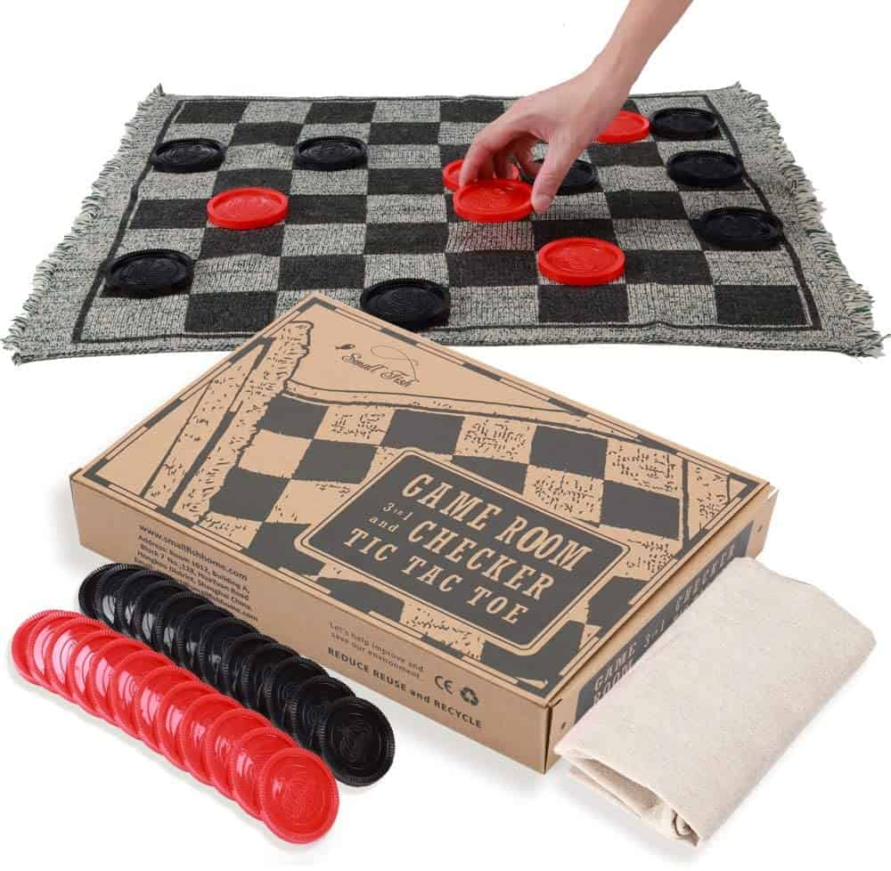 Giant Tic Tac Toe and Checkers Game