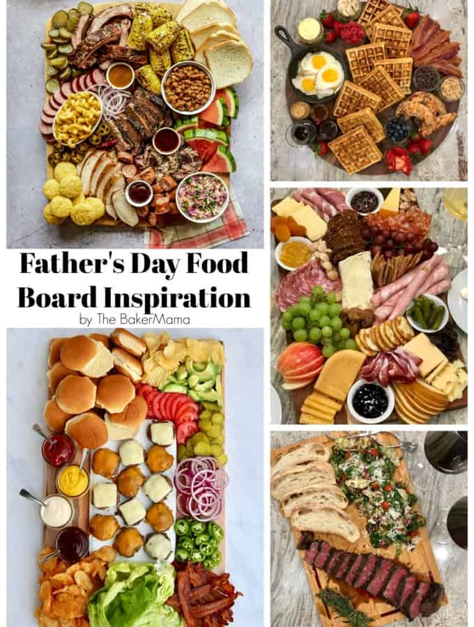 Father's Day Food Board Inspiration by The BakerMama