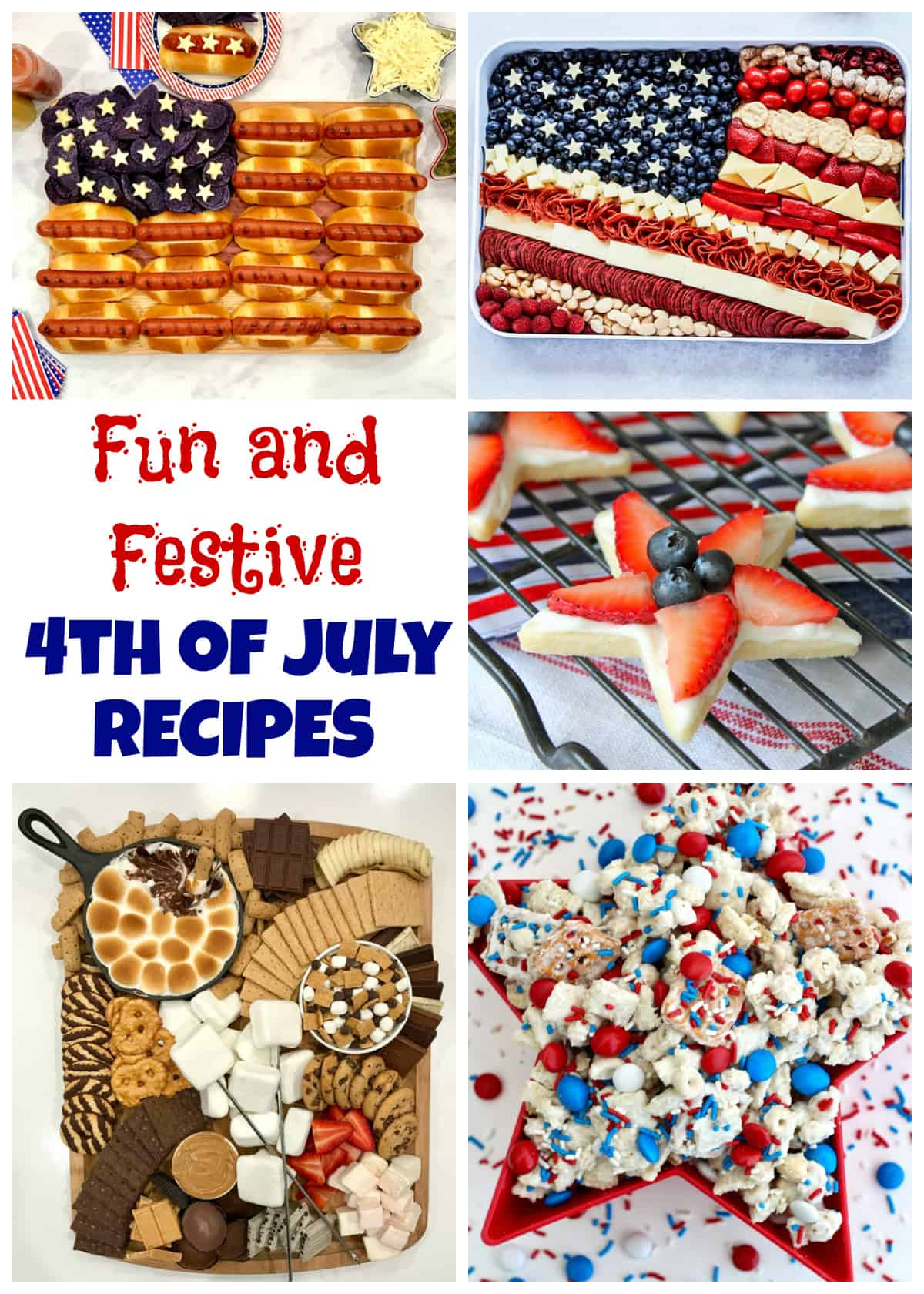 Fun and Festive 4th of July Recipes Round-up