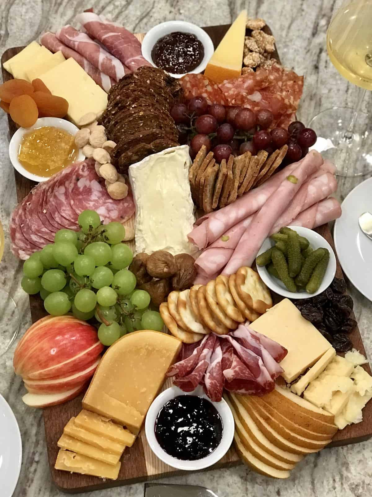 Charcuterie and Cheese Board by The BakerMama