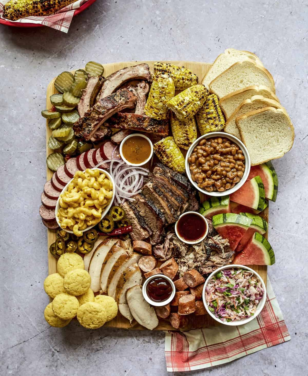 BBQ Board by The BakerMama