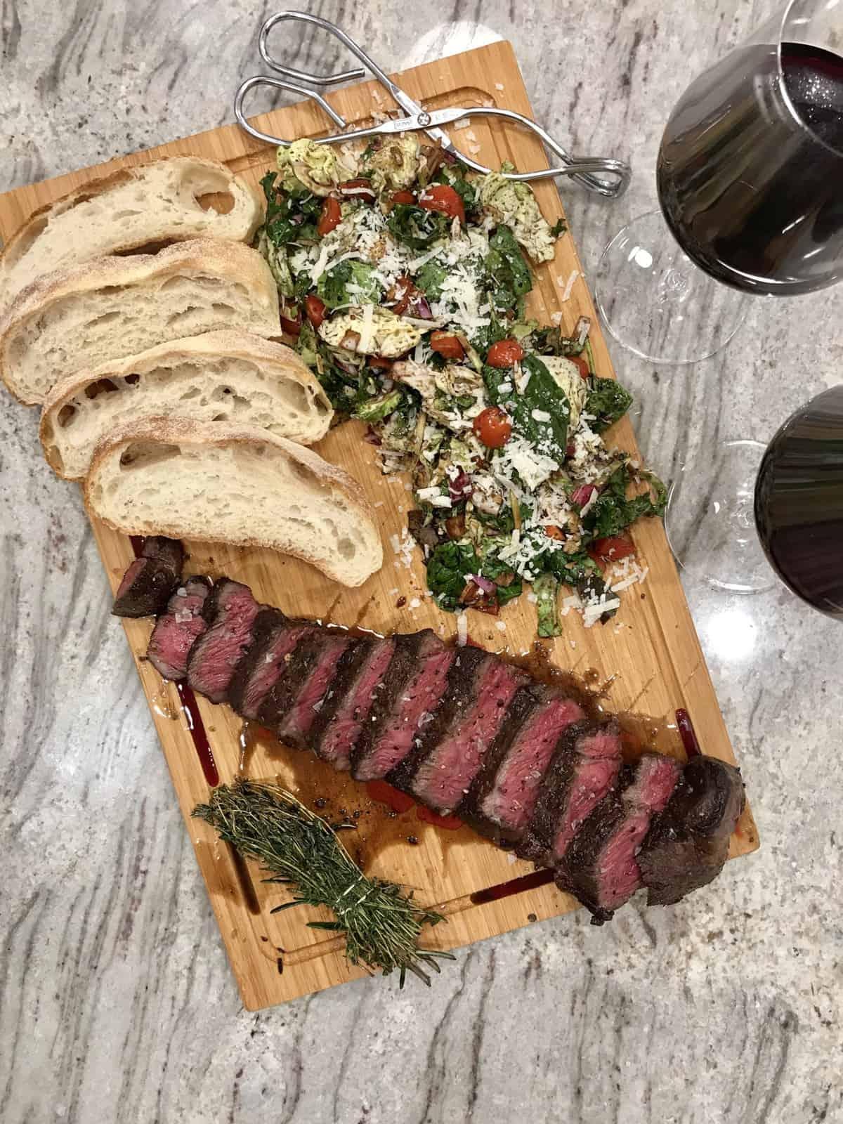 Steak Board by The BakerMama