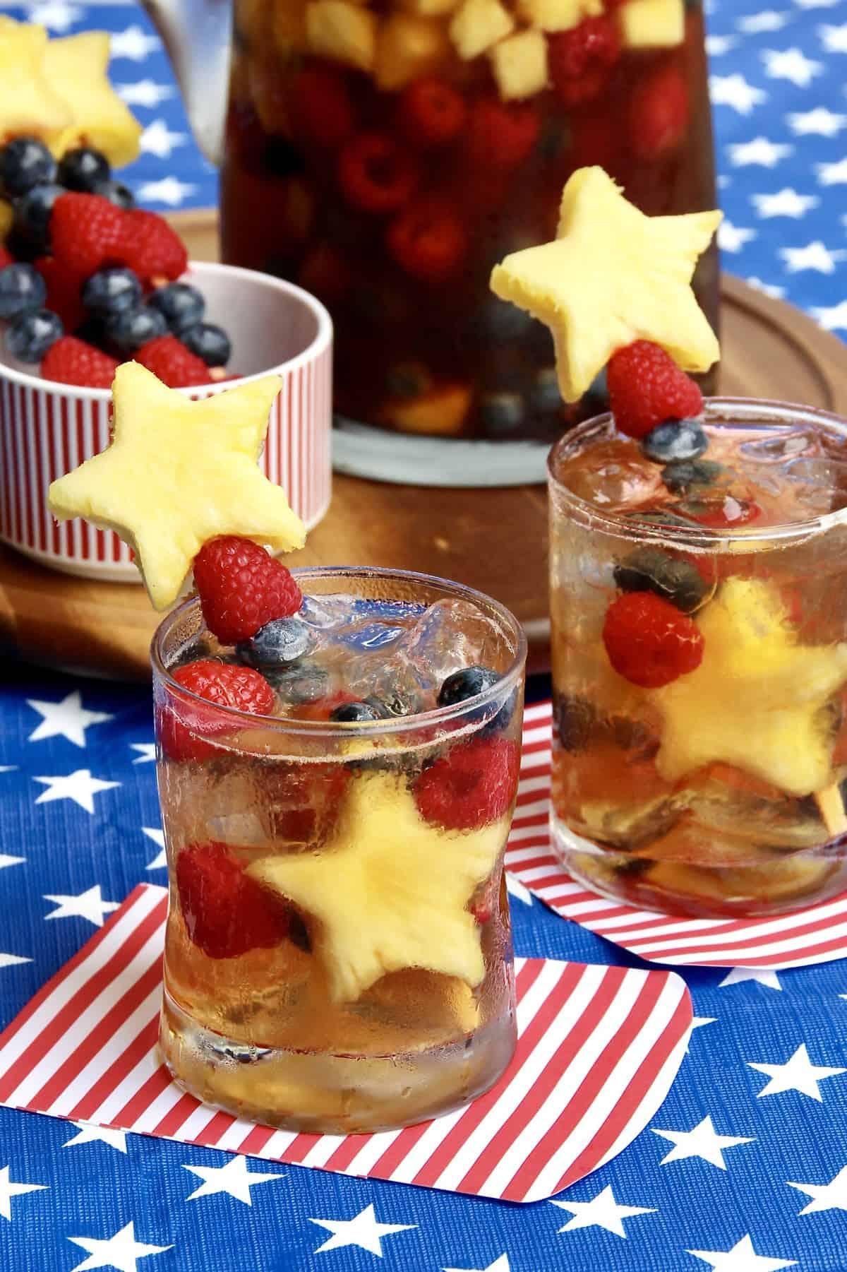 Sparkling Sweet Tea Sangria