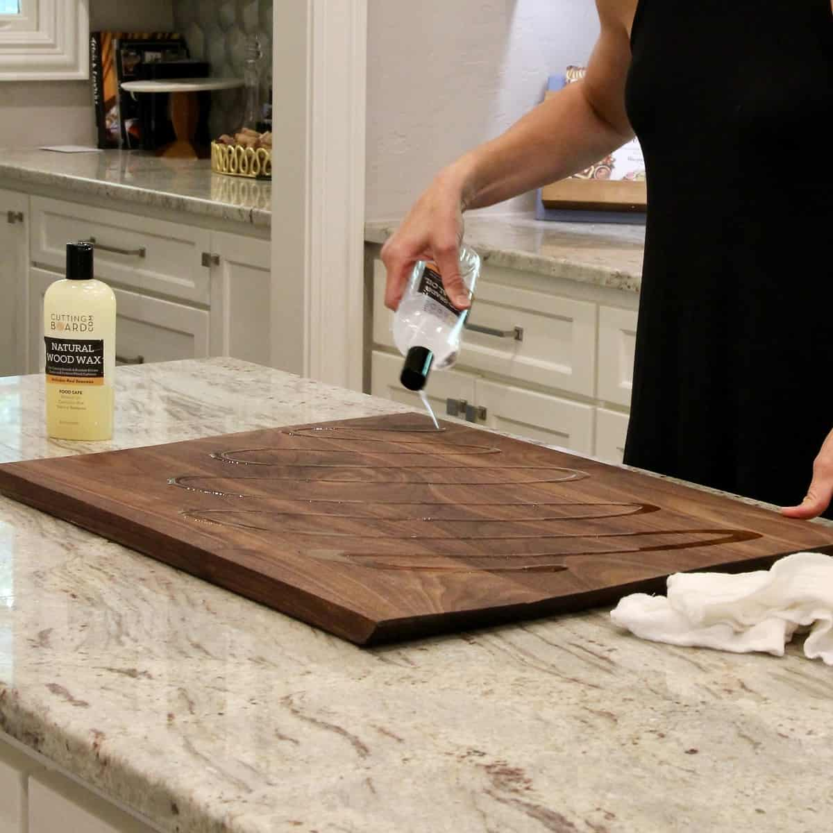 How to Clean and Care for Your Wood Board by The BakerMama
