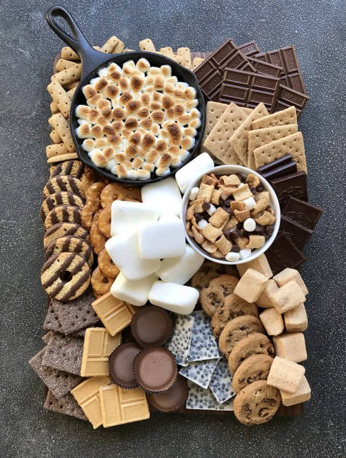 S'mores Board by The BakerMama