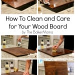 How to Clean and Care for Your Wood Board
