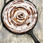 Family-Size Skillet Cinnamon Roll