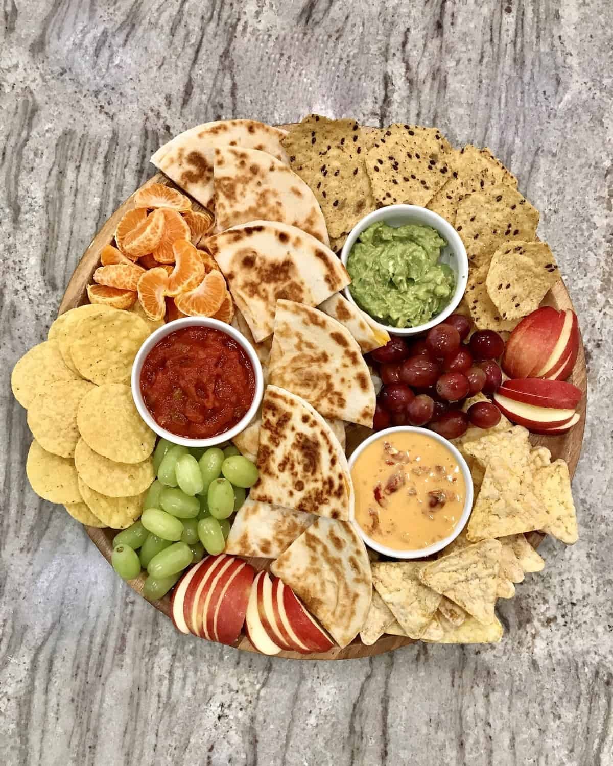 Quesadilla Lunch Board by The BakerMama