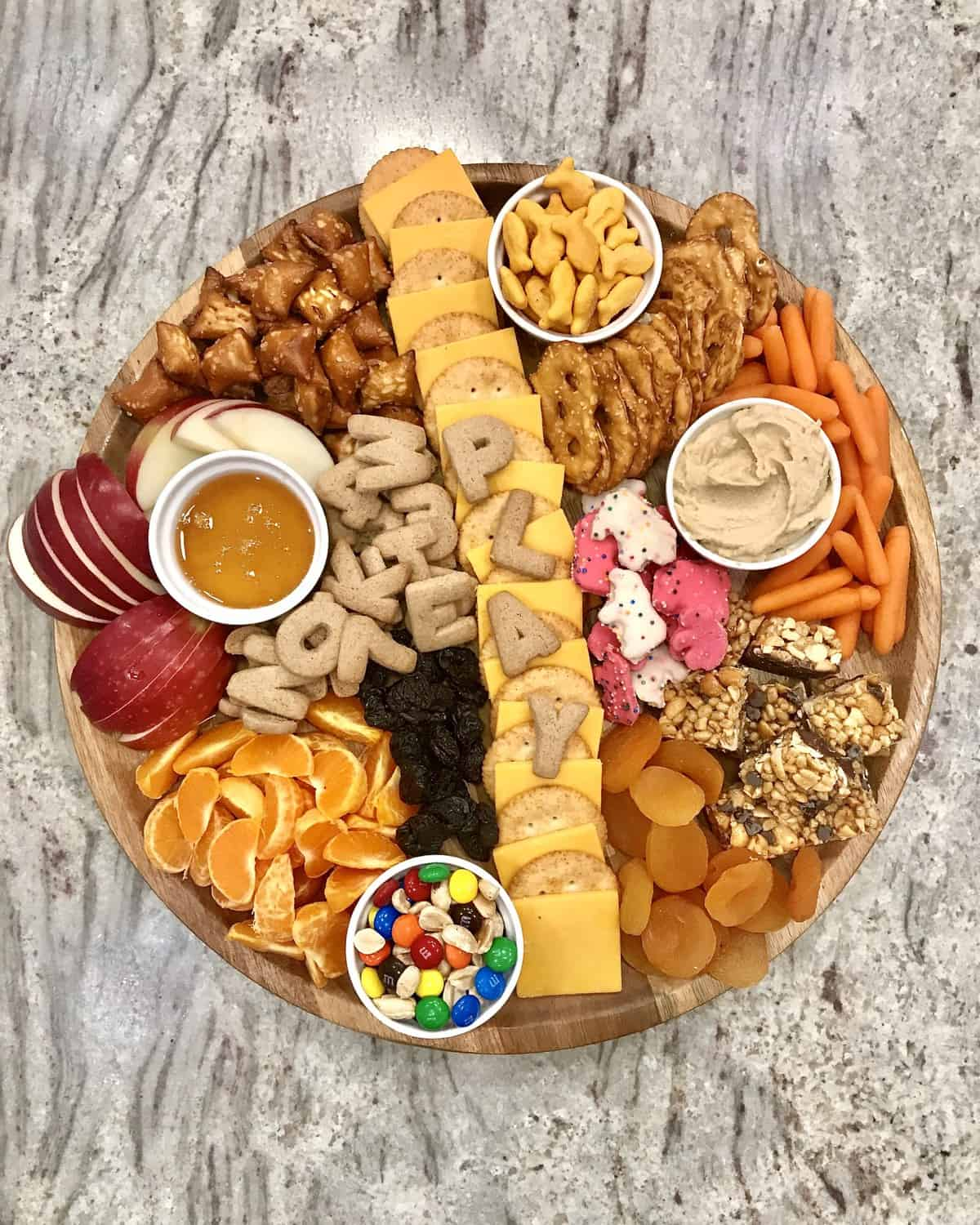 Playdate Snack Board by The BakerMama