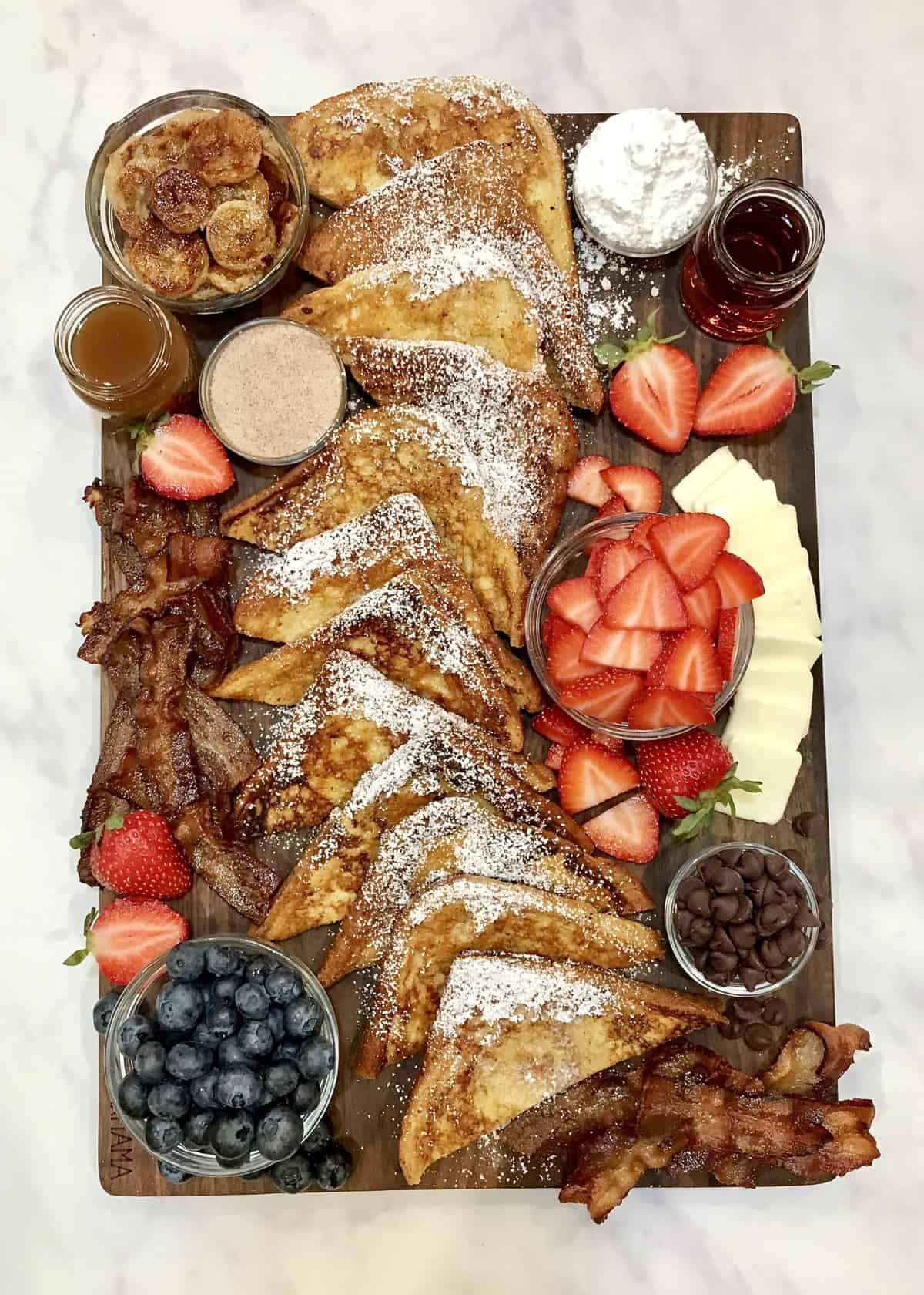 French Toast Board by The BakerMama
