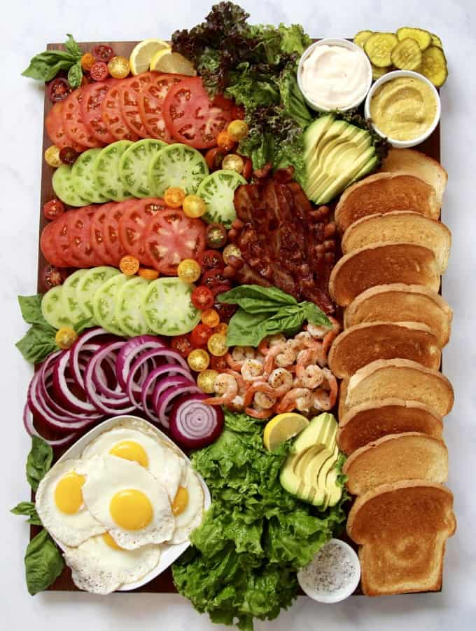 Build-Your-Own BLT Board by The BakerMama