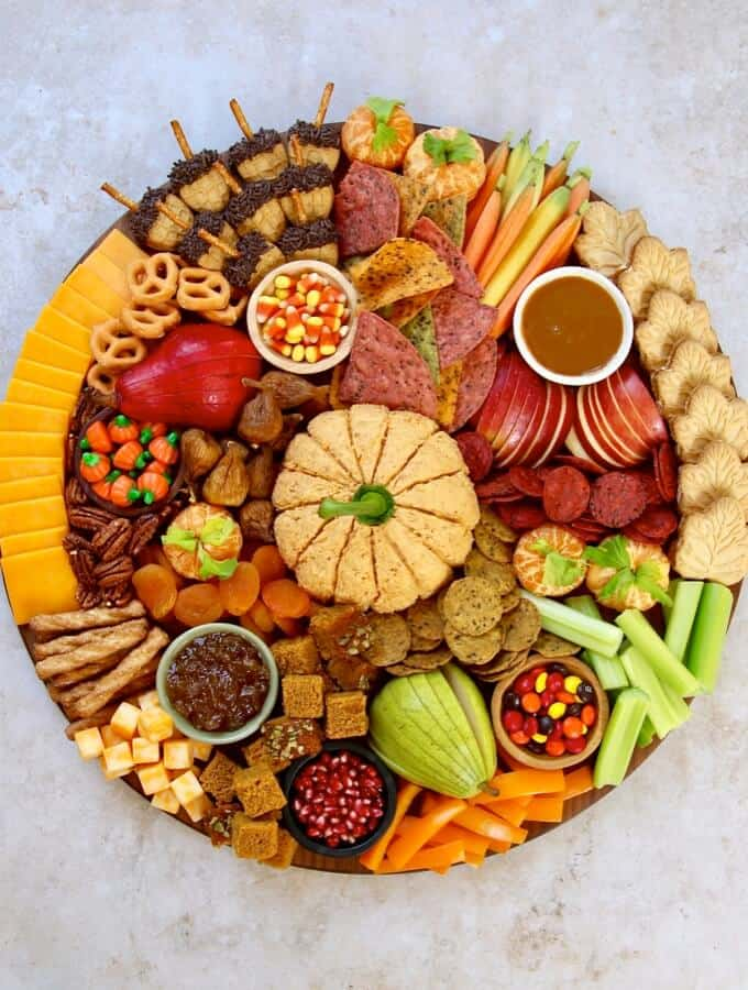Fall Feast Board by The BakerMama