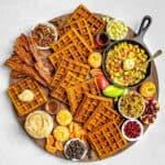 Pumpkin Waffle Board