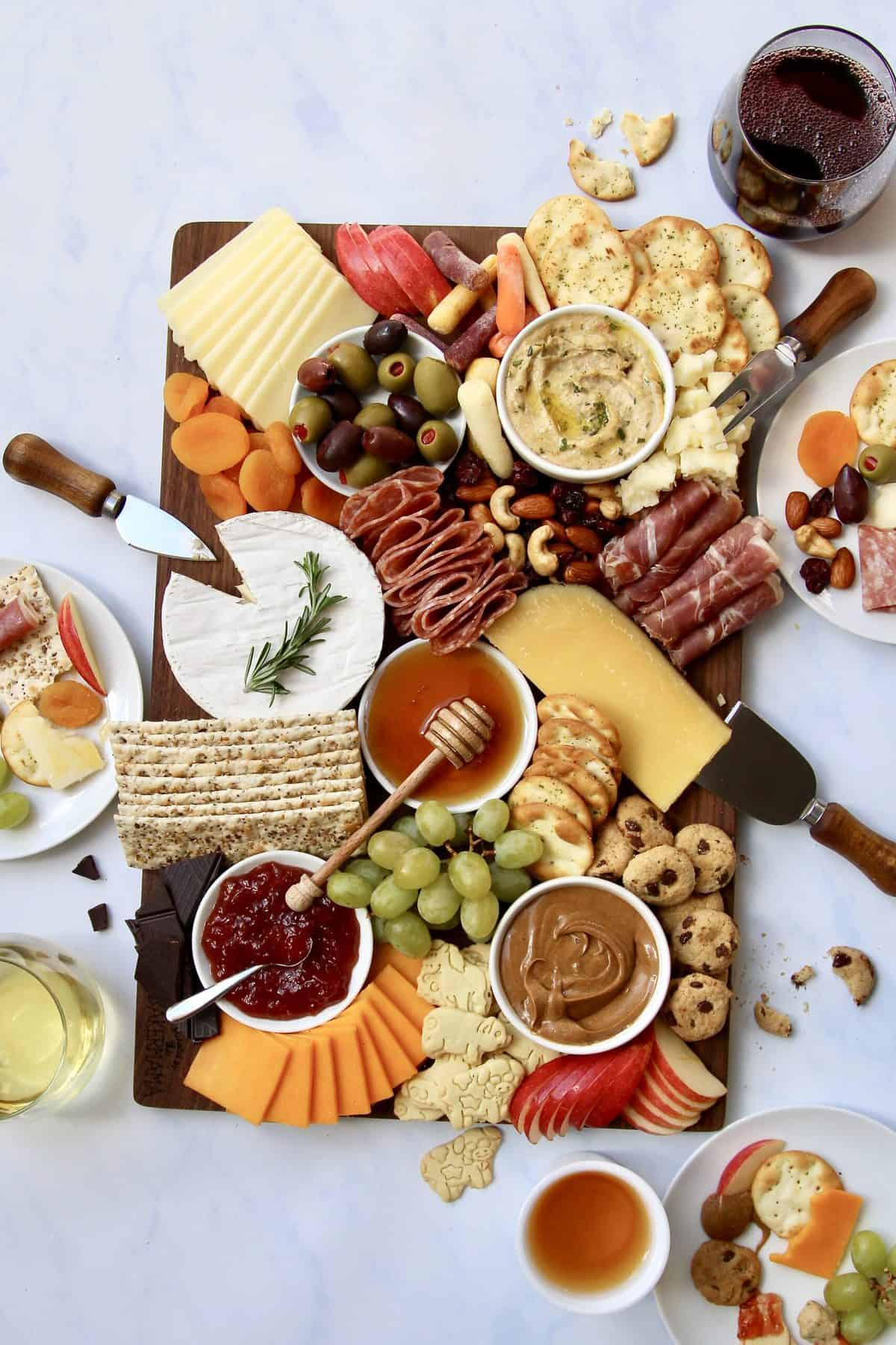 The Ultimate Holiday Grazing Board by The BakerMama