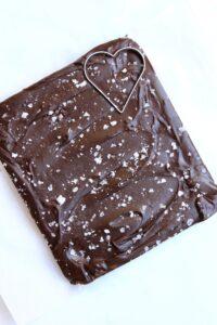 Karo Dark Chocolate Fudge with Sea Salt