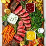 Roasted Beef Tenderloin Board